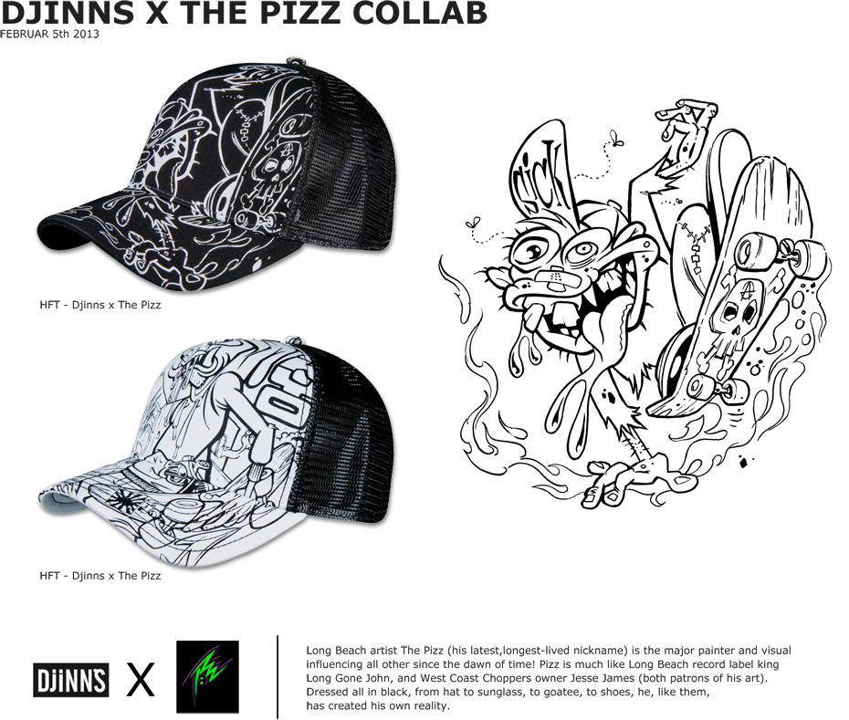 Djinns X The Pizz Collab