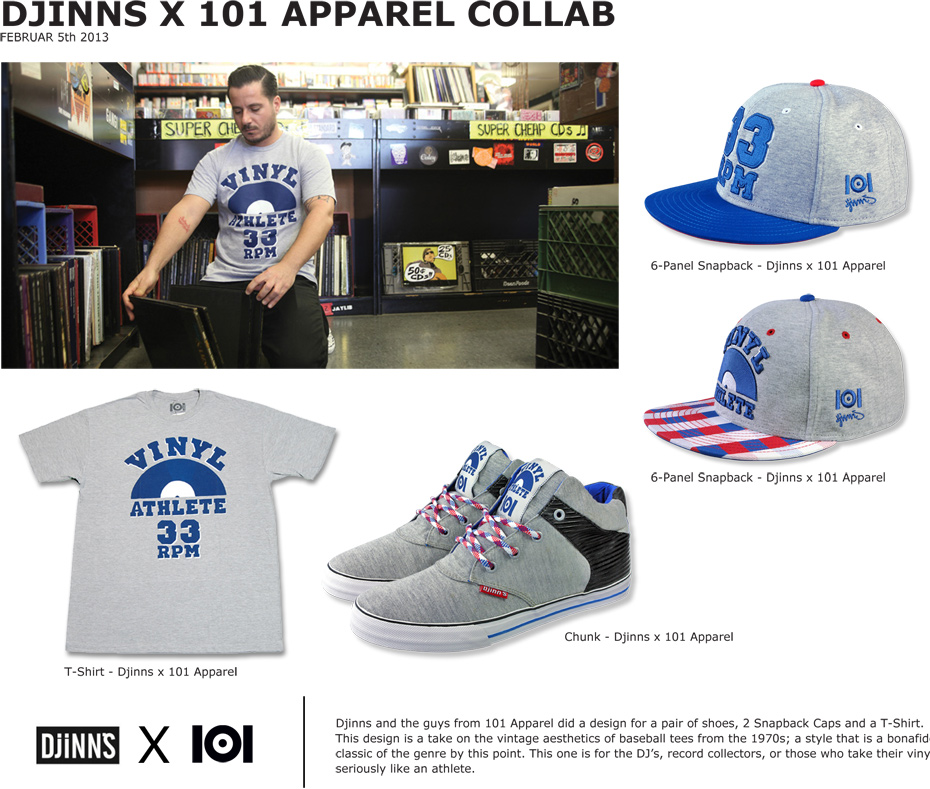 Djinns X 101 Apparel Collab